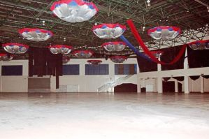 Show won't go on: The concert venue at the Mines International Exhibition and Convention Centre in Seri Kembangan stays empty after the concert was cancelled.