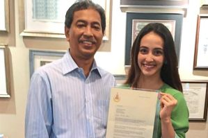 Sultan of Selangor sends letter congratulating gymnast and ticks off those who criticised her over sport's attire. (Photo: The Star)