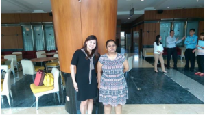 Security guards at the SUK building barred Prema (right) and Tan entry earlier today, telling them to drape sarongs over their knee-length dresses. ― Facebook screencap - See more at: http://www.themalaymailonline.com/malaysia/article/after-rtd-fiasco-selangor-state-secretariat-tells-women-to-don-sarongs-too#sthash.A3QCdZ1Q.dpuf