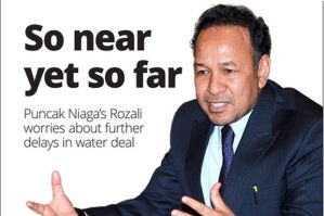 """Both governments should realise the urgency of the inadequate water supply for consumers and the economy of the most industrious areas (Kuala Lumpur and Selangor) in the country. I am concerned for the public and the longer we dwell on this matter, the more it could adversely affect foreign investors' perception,"" Puncak Niaga Holdings Bhd (PNHB) executive chairman Tan Sri Rozali Ismail(pic) told StarBiz."